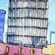 Manchester Embankment 1 Art Print