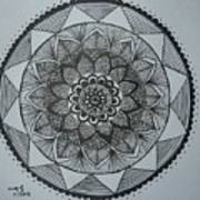 Mandal Art Print