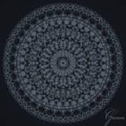 Mandala - 1 Art Print