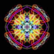 Mandala 3309a Art Print