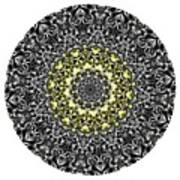 Mandala - Amulet 866 For Those Born In ..... Art Print
