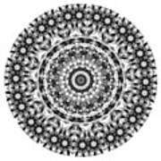 Mandala - Amulet 871 For Those Born In ..... Art Print