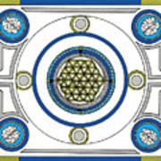 Mandala Anese Art Print