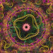 Mandala Desire Art Print