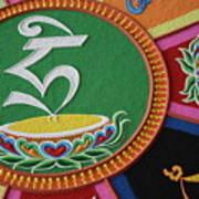 Mandala Hrih Art Print