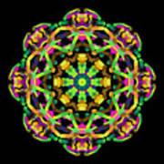 Mandala Image #14 Created On 2.26.2018 Art Print