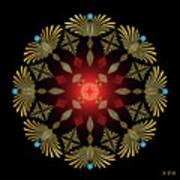 Mandala No. 4 Art Print