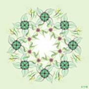 Mandala No. 66 Art Print