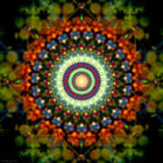 Mandala Of Loves Journey Art Print