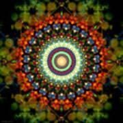 Mandala Of Loves Journey Art Print