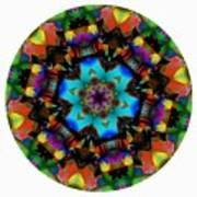 Mandala - Talisman 1101 - Order Your Talisman. Art Print