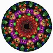 Mandala - Talisman 1102 - Order Your Talisman. Art Print
