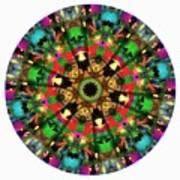 Mandala - Talisman 1104 - Order Your Talisman. Art Print