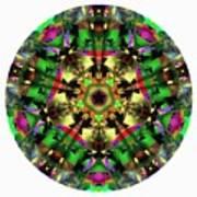 Mandala - Talisman 1107 - Order Your Talisman. Art Print