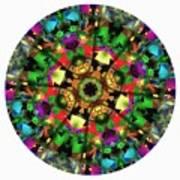 Mandala - Talisman 1108 - Order Your Talisman. Art Print
