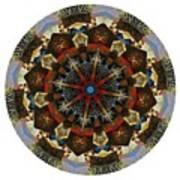 Mandala - Talisman 1123 - Order Your Talisman. Art Print