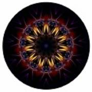 Mandala - Talisman 1389 Art Print