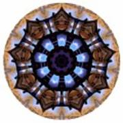 Mandala - Talisman 1396 Art Print