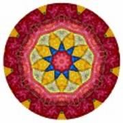 Mandala - Talisman 1404 Art Print