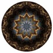 Mandala - Talisman 1415 Art Print