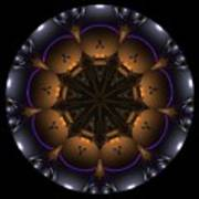 Mandala - Talisman 1431 Art Print