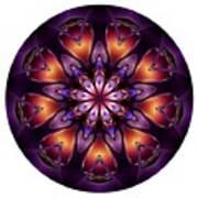 Mandala - Talisman 1432 Art Print