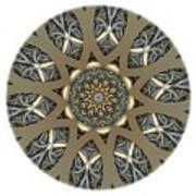 Mandala - Talisman 1434 Art Print