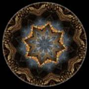 Mandala - Talisman 1445 Art Print