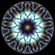 Mandala - Talisman 1447 Art Print