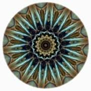 Mandala - Talisman 1457 Art Print