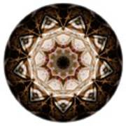 Mandala - Talisman 3707 Art Print