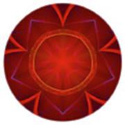 Mandala - Talisman 4006 Art Print