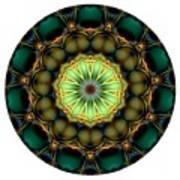 Mandala - Talisman 853 For Those Born In 1957 Art Print