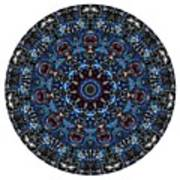 Mandala - Talisman 962 For Those Born In ..... Art Print