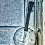 Mandolin Banjo In The Corner Art Print