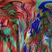 Mandolin Rain 2 Art Print