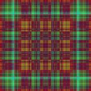 Mandoxocco-wallpaper-red-green Art Print