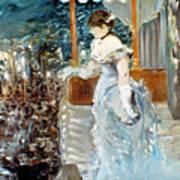 Manet: Cafe-concert, 1879 Art Print