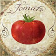 Mangia Tomato Art Print