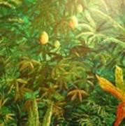 Mango Hill Art Print