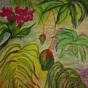 Mangoes Art Print by Lee Krbavac