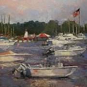 Manhasset Bay Art Print
