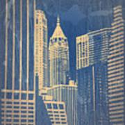 Manhattan 1 Print by Naxart Studio