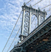 Manhattan Bridge 4 Art Print