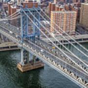 Manhattan Bridge  6413  Art Print
