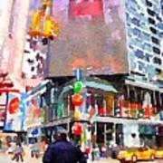 Manhattan Crossroads Art Print