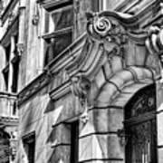 Manhattan East Side Buildings 01 Art Print