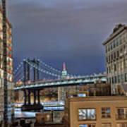 Manhattan Empire State Art Print