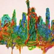 Manhattan Lady Art Print