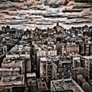 Manhattan Landscape Art Print